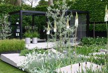 Moderní zahradní design / moderní zahradní styly