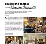 """SOME ARTICLES / """"Il lusso che cambia, un'intervista con Massimo Simonetti per parlare dei 40 anni di attività dello studio che risponde con flessibilità al gusto che cambia"""""""