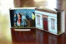 Houses, boxes, miniatures