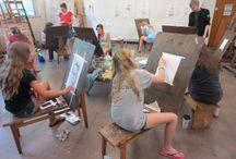 2014 Art Camp / MOA's Summer Art program.