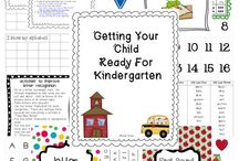Getting ready for kinder!!!