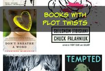 Books with the Best Plot Twists / Ready for a plot twist? Maybe one of these books will have the best plot twists you are looking for!