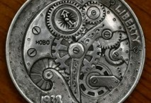 Robot/Mechanical/Steampunk Themes: Hobo Nickels