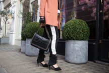 STYLE I London StreetStyle / Sargossa blues the lines between Comfy and Trendy Stilettos and brings Comfortable Heels to the streets of London