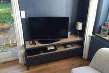 Meubles bois et métal / Meubles tv, consoles en bois et métal