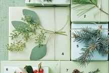 CHRISTMAS DECOR & IDEAS / Inspirational photos for Christmas decor, wrapping, recipes, and more!