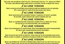Manifeste J'ai une vision