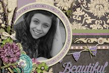 ForeverJoy Designs CT / Layouts made with kits from ForeverJoy Designs / by Melissa Dawes