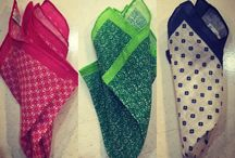 Pocketsquares end ties...