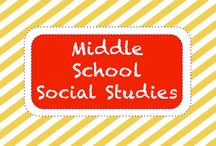 S O C I A L • S T U D I E S • M S / Middle School Social Studies Resources / by TeachersPayTeachers