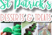{St. Patrick's Day - Lucky - Green FUN!} - Dreaming in DIY / The best do it yourself St. Patrick's Day Holiday craft project tutorials, DIYs, pretty and delicious Recipes, Paper Crafts and Printables, All things GREEN, Lucky, Irish, Shamrock, Minty and delish. Perfect for the family who loves everything handmade, and homegrown!