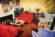 50s - 60s Interior Trends