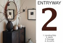 Entryway Decor / by Angie Siemer Black