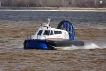 Mirage Hovercraft / Mirage hovercraft, manufactured in Russia