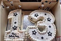 Number Thirteen Cake Designs
