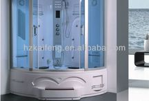 Shower Cabin (Model: GT0514)  / Place of Origin: Zhejiang China (Mainland) Brand Name: GTSHOWER Model Number: GT0514 Tray Material: ABS Type: Steam Rooms Frame Style: With Frame Frame Material: Aluminium Alloy Frame Surface Finishing:  chrome frame or satin finish frame Glass Thickness: 5mm Open Style: Sliding Tray Shape: Sector Certificate: CE/RoHS/ISO9001