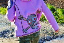 Meine Jacken für Kinder