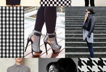 F/W 2017 Women's Colors & patterns Trend: BACK TO BLACK