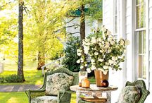 Home - Porches / Decor inspo for porches, verandas, balconys etc.