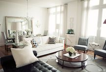 modern + traditional / Blending modern and traditional furnishings.