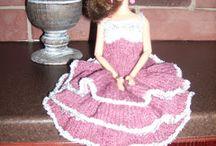 Barbie-world / Barbien vaatteita
