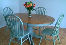 Painted Furniture-Tables / by Christina Deras