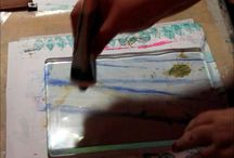 Gelli Plate Printing / Tutorials and ideas