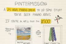 Jonathan's #Pintermission / A 24-hour Pinterest break, to get out and do some of the stuff you're pinning about.
