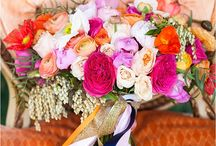 Orange & Pink Spring Photo Shoot With All in the Detail Design