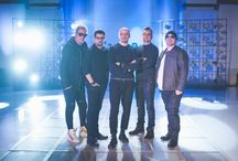 """Voltaj   Romania Eurovision 2015 / Voltaj (which means voltage in Romanian) is a Romanian pop-rock group. They won the Best Romanian Act award at the MTV Europe Music Awards 2005. They represented Romania in the Eurovision Song Contest 2015 with the song """"De la capăt""""."""