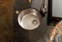 Beautiful Home - COUNTER TOPS / Various counter top options for kitchens, bars or bathrooms.