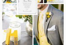 Palette nozze: grigio / Grey wedding / Ispirazioni per il matrimonio in grigio/ Gray wedding ideas