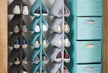 Shoe organizers and others