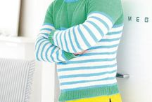 Men's Knitting Patterns / Let our pattern round-up inspire you to knit him jumpers, roll-necks and accessories