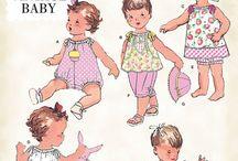 Sewing Patterns: Babies