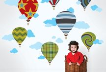 Decor Ideas for Kids / Find some funky color combinations for kids bed room