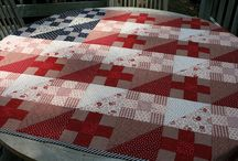 Quilt: Red White and Blue