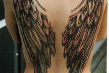 Tatuagem Anjo e Asas