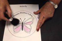 Mother's Day Crafts Butterfly plate topper