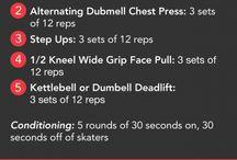 Workouts / by Daphne Woodyatt