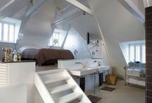 Slaapkamer zolder / Zolder slaapkamer