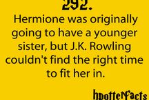 Harry Potter / by Kristen Griffin