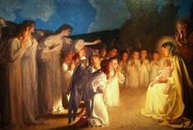 Adorando al Niño Jesús / by Tres France