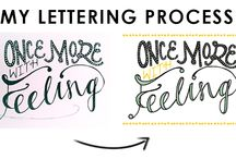 Lettering Process