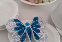 quilling - motyle