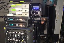 Behind the scenes / Tape being used behind the scenes