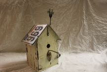 For The Birds / Unique, charming beautiful bird houses just for the birds. / by Deb Martin-Webster