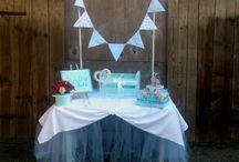 Baby Party Dekoration zu mieten