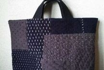 Sashiko purse/bag