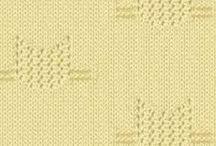 рисунки вязание
